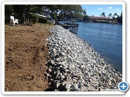 Gold Coast canal revetment wall